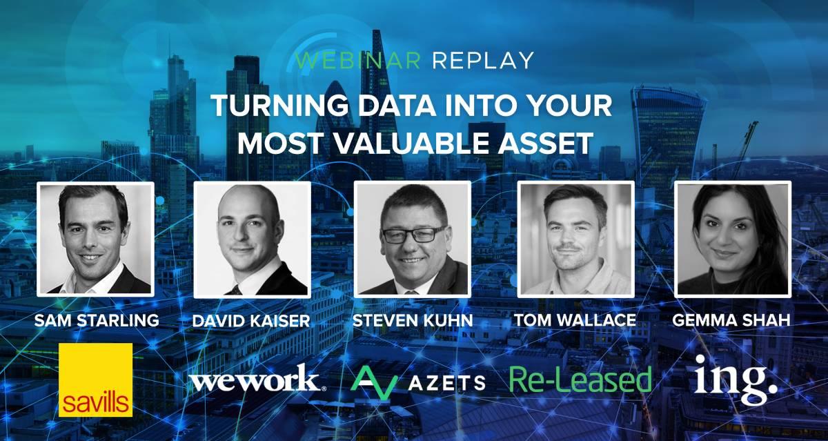 webinar turning data into asset-uk