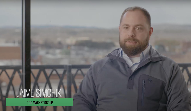 Jamie Simchik 100 Market Group